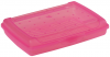 keeeper Brotdose ´luca´, Click-Box Mini, pink-transparent