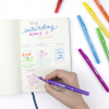 Tombow Doppelfasermaler ´TwinTone´ Rainbow, french blue