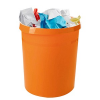 HAN Grip Papierkorb 18,0 l orange