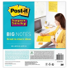 Post-it® Super Sticky Big Notes Jumbo-Haftnotizen extrastark BN11-EU gelb