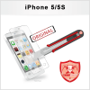 5 x Displayschutzfolie iPhone 5/5S Panzerglas