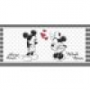 Keilrahmenbild Disney ca. 33x70cm Mickey & Minnie Mouse
