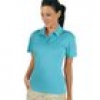 Polo-Shirt 'Cooldry' türkis Gr. M